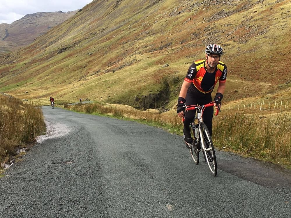 Lake District Road Bike Training